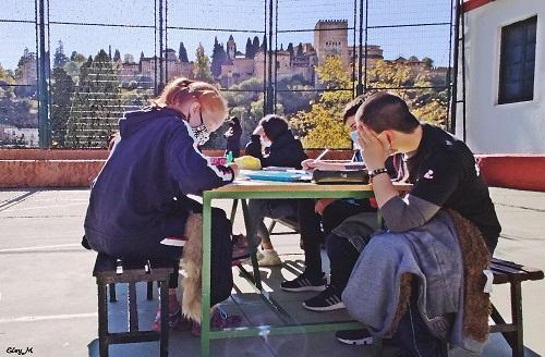Clases al aire libre en Educación Secundaria Obligatoria