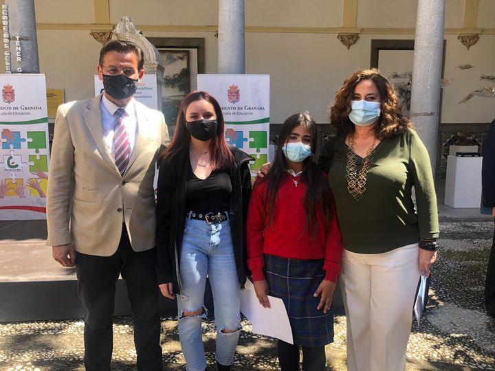 Reconocimiento del Ayuntamiento de Granada a nuestras alumnas